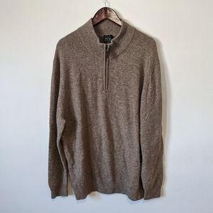 Jos A Bank Traveler Collection Mock Neck Pullover